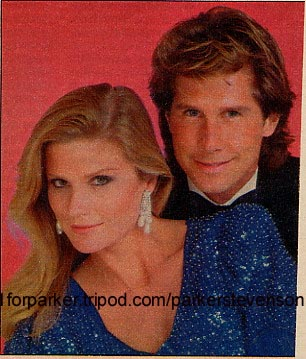 With Laura Johnson in Falcon Crest