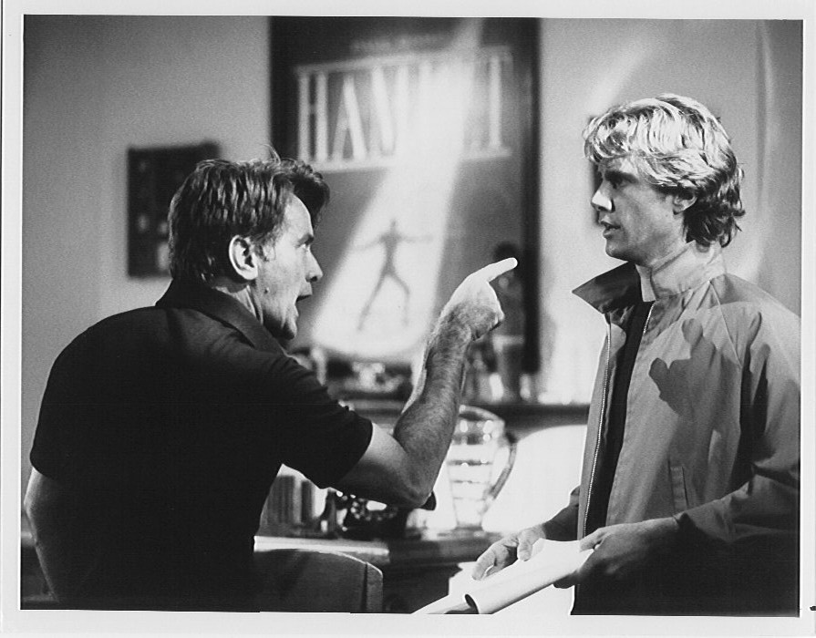"Martin Sheen and Parker in ""Method Actor"""