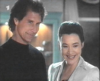 With Joan Chen